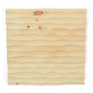 Wandverkleidung aus Zirbenholz 33x33x2,8 cm (LxBxT) - echte Handarbeit - 4betterdays