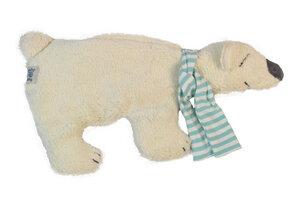 Wärmekissen 'Eisbär', Bio-Dinkelkörner , 100 % Baumwolle kbA - PAT & PATTY