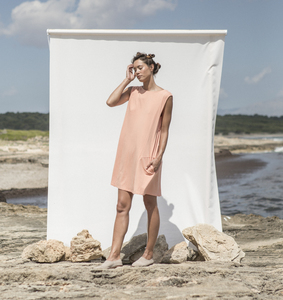 Morgana Dress Coral - Suite 13