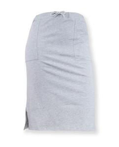 Damen Midirock mit Taschen | Sinum | grau meliert - Degree Clothing