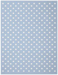 Babydecke und Kinderdecke Lovely & Sweet  Dots 75 x 100 cm  - biederlack