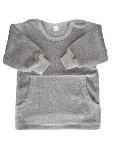 Baby u. Kinder Sweatshirt Nicky grau Bio Baumwolle iobio - iobio