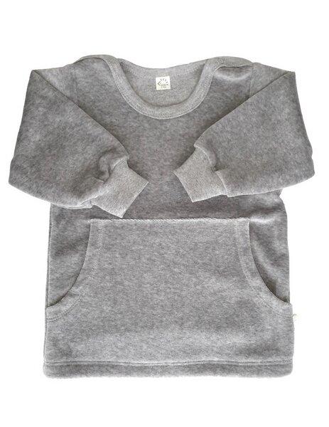 0e218edcc36e69 iobio - Baby u. Kinder Sweatshirt Nicky grau Bio Baumwolle iobio ...