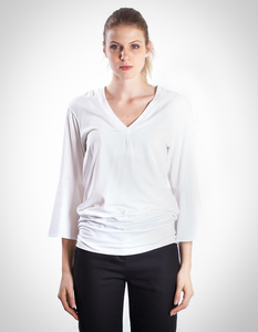 Fiona T-Shirt / 0001 Eukalyptus & Bio-Baumwolle / Minimal - Re-Bello