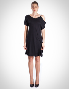 Josephine Dress / 0002 Buche & Bio-Baumwolle / Minimal - Re-Bello