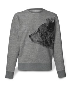 Herren Sweatshirt Bruder Bär - Kommabei