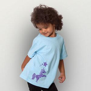 'Einhorn' Unisex Kinder T-Shirt  - HANDGEDRUCKT