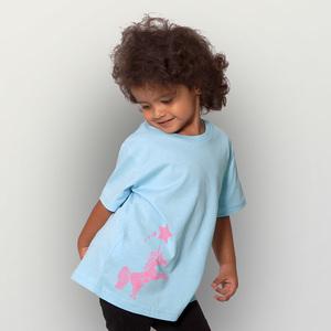 'Einhorn' Kinder T-Shirt  - shop handgedruckt
