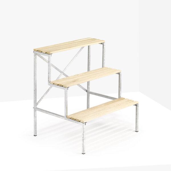 livendor blumentreppe blumenleiter pflanzenregal avocadostore. Black Bedroom Furniture Sets. Home Design Ideas