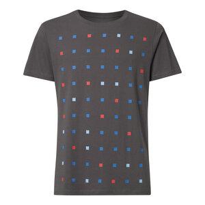 Squared T-Shirt Herren dunkelgrau Bio & Fair - THOKKTHOKK