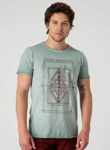 Bedrucktes T-Shirt aus Bio Baumwolle - ORGANICATION