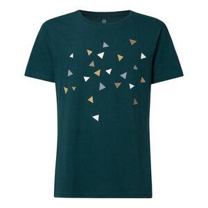 Delta T-Shirt Herren blaugrün Bio & Fair - THOKKTHOKK