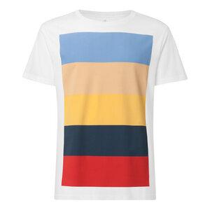 Colorboard T-Shirt Herren weiß Bio & Fair - THOKKTHOKK