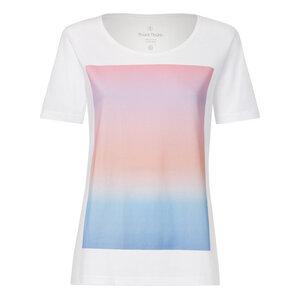 Colorboard Gradient TT64 T-Shirt Damen weiß Bio & Fair - ThokkThokk