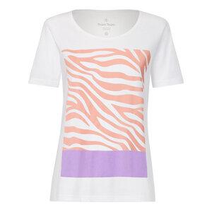 Zebra18 TT64 T-Shirt Damen weiß Bio & Fair - THOKKTHOKK