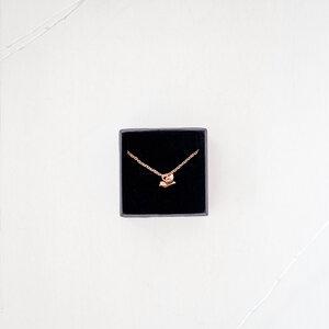 Vögelchen Halskette aus vergoldetem Edelstahl inkl. Geschenkbox - Oh Bracelet Berlin