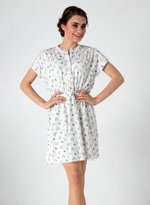 Kleid aus Bio Baumwolle mit Allover-Blumen-Print - ORGANICATION