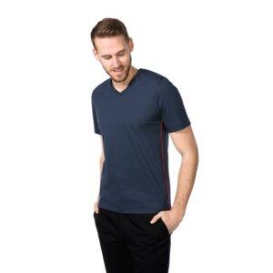T-Shirt V-Ausschnitt - ben|weide