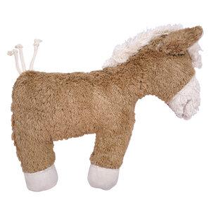Kuscheltier Greifling mit Rassel 'Pferd' , 100 % Baumwolle-kbA - PAT & PATTY