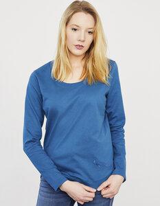 Sweatshirt in Bio Baumwolle mit gerundetem Saum - Endlich