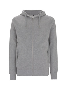 Mens/Unisex Sweat Zip Up Hood Lucian - University of Soul