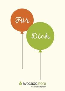 Gutschein Wert frei wählbar - Ballons  - Avocado Store