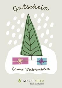 Gutschein - Wert frei wählbar - Weihnachten - Avocado Store