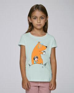 T-Shirt mit Motiv / Lesebär - Kultgut