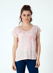 T-Shirt aus Bio Baumwolle mit längerem Rückenteil - ORGANICATION
