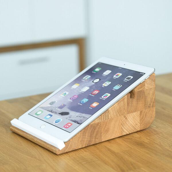 holzbutiq tablet halter tablojdo 10 ipad halter tablet halterung 10 zoll avocadostore. Black Bedroom Furniture Sets. Home Design Ideas