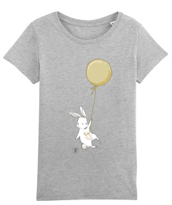 T-Shirt mit Motiv / Happy Rabbit - Kultgut