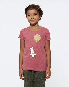 T-Shirt mit Motiv / Happy Rabbit - Kultgut