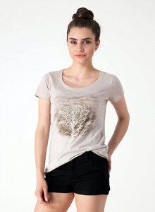 Baum mit Vögeln print T-shirt aus Bio Baumwolle - ORGANICATION