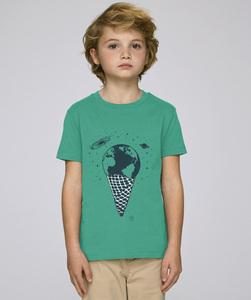 T-Shirt mit Motiv / Eine Kugel Erde - Kultgut