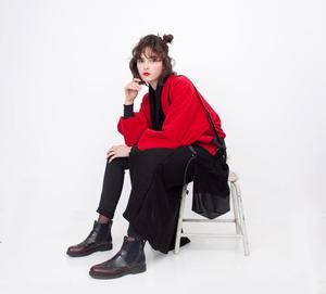 Puffed Sleeve Bomb Damen Wolle - Iksi - XXII Streetwear