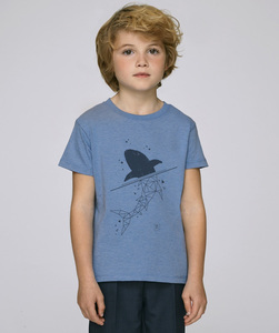 T-Shirt mit Motiv / Shark - Kultgut