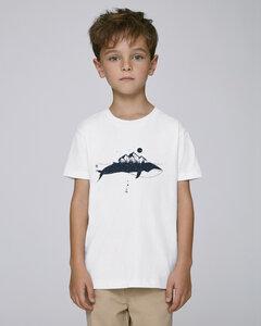 T-Shirt mit Motiv / Wal - Kultgut