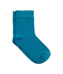 6 Paar Socken 5 Farben Bio-Baumwolle schwarz grau anthrazit - Roots