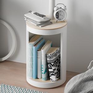 BücherHocker einfarbig | rund:Stil - rund:Stil