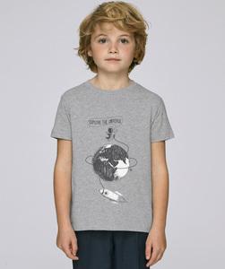 T-Shirt mit Motiv / Explore the Universe - Kultgut