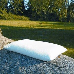 Schlafkissen mit Bio Dinkelspelzen und Kautschuk 40 x 60 cm - Speltex