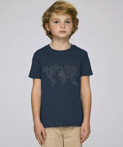 T-Shirt mit Motiv / Worldmap - Kultgut