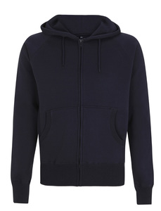 Mens Zip Through Hooded Sweat Niklas - University of Soul