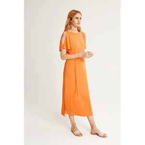 Victoria Dress - Orange - People Tree