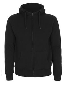 Mens High Neck Zip Up Hoody Arvid - University of Soul