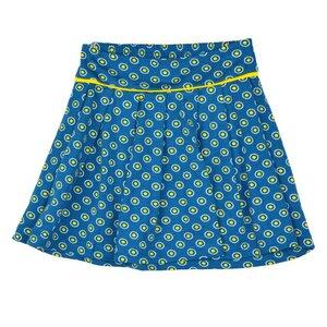 Pleat skirt dots Punkte blau gelb  - Baba Babywear