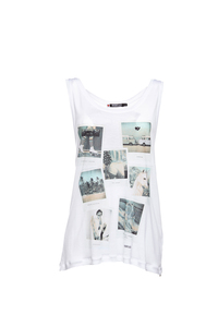 Polariod Tunic Tencel Vest - Re-Bello