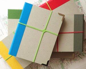 Recycling-Mappe mit Block - Laubhaus