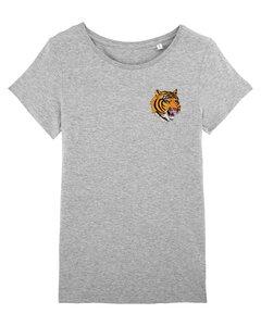"Damen T-Shirt aus Bio-Baumwolle ""Wild Tiger"" - University of Soul"