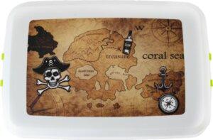 Piratenbox aus Biokunststoff - Biodora
